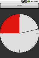Screenshot of Boxe Round Clock