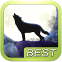Wolf Howl Sound Shake icon