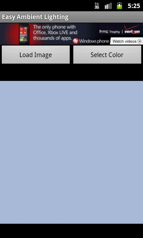 Easy Ambient Lighting- screenshot