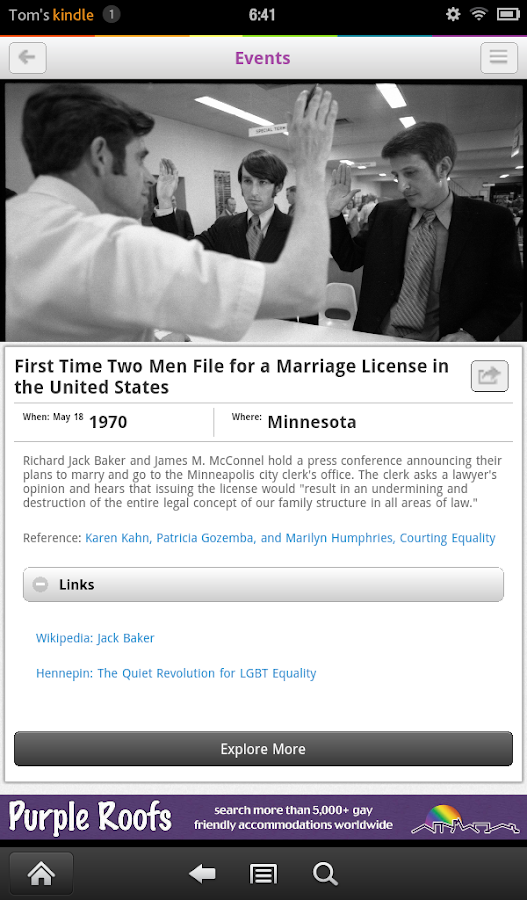 Quist - Today in LGBTQ History- screenshot