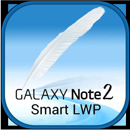 Galaxy Note 2 Smart LWP LOGO-APP點子