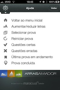 Arrais Amador Lite - screenshot thumbnail