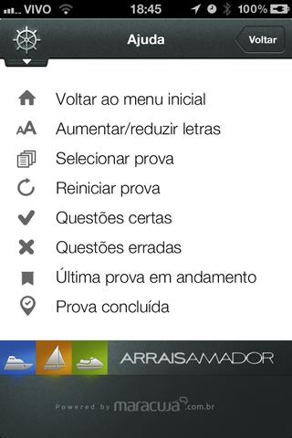 Arrais Amador Lite - screenshot