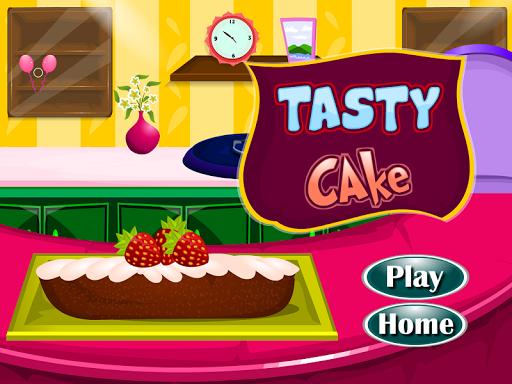 おいしいケーキのゲームを準備