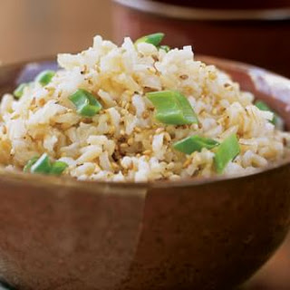 Sesame Brown Rice