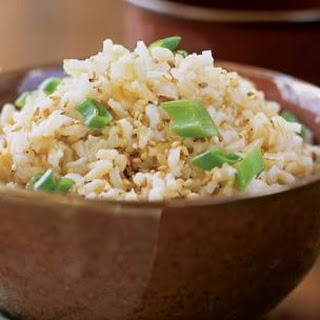 Sesame Brown Rice.