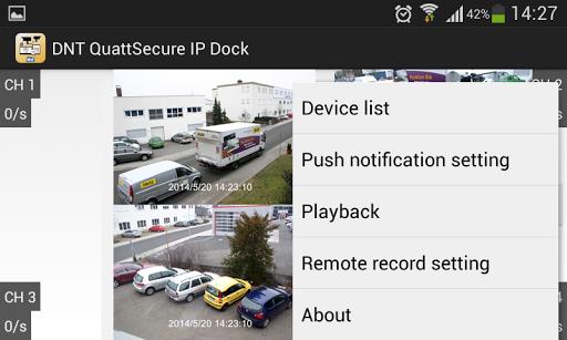 DNT QuattSecure IP Dock