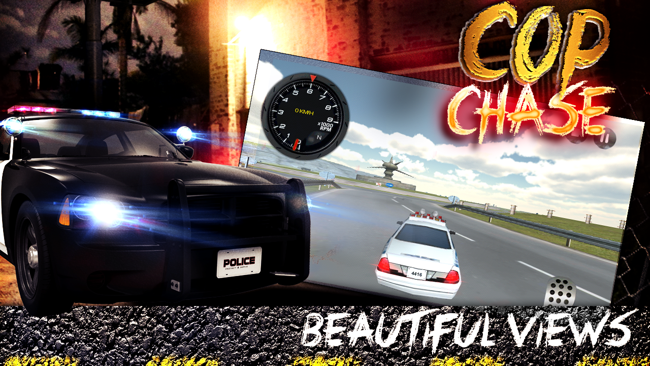 Cop Chase: Hot Pursuit 3D- screenshot