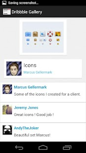 Talent Scout - Dribbble Cient- screenshot thumbnail