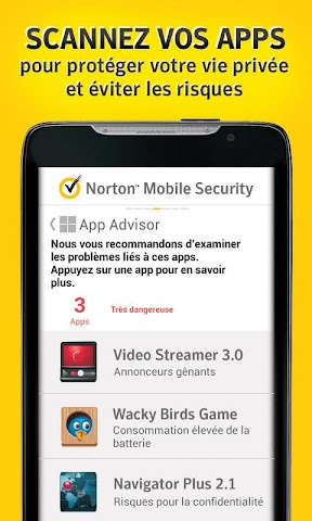 android Norton Security and Antivirus Screenshot 1