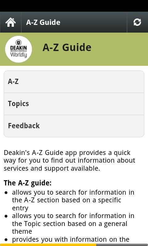 Deakin University - screenshot