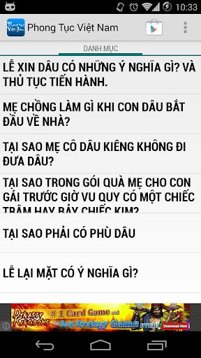 Phong Tục Việt Nam Cực Hay