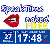 SpeakTime Naked Free widget