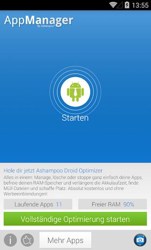 App Manager - Apps Verwalten