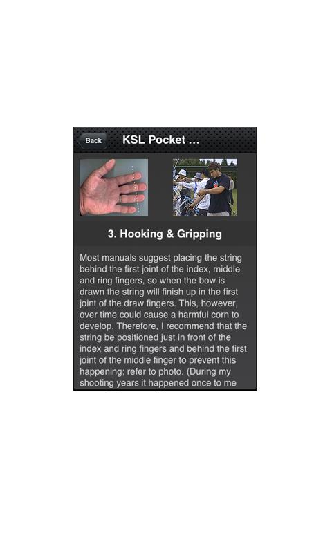 KSL Pocket Coach- screenshot