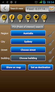Map of Australia- screenshot thumbnail