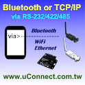 Bluetooth & TCP/IP Terminal