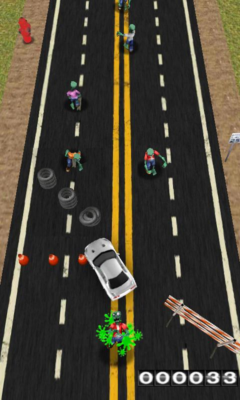 ZOMBIES! Hit and RUN! - screenshot