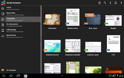 OfficeSuite Pro + PDF (Trial) Screenshot 40