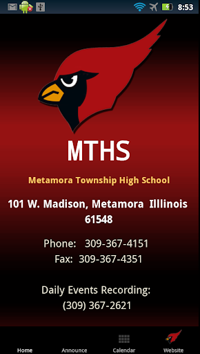 MTHS Android App