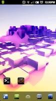 Screenshot of ADW Theme: Honeycomb Sqrd