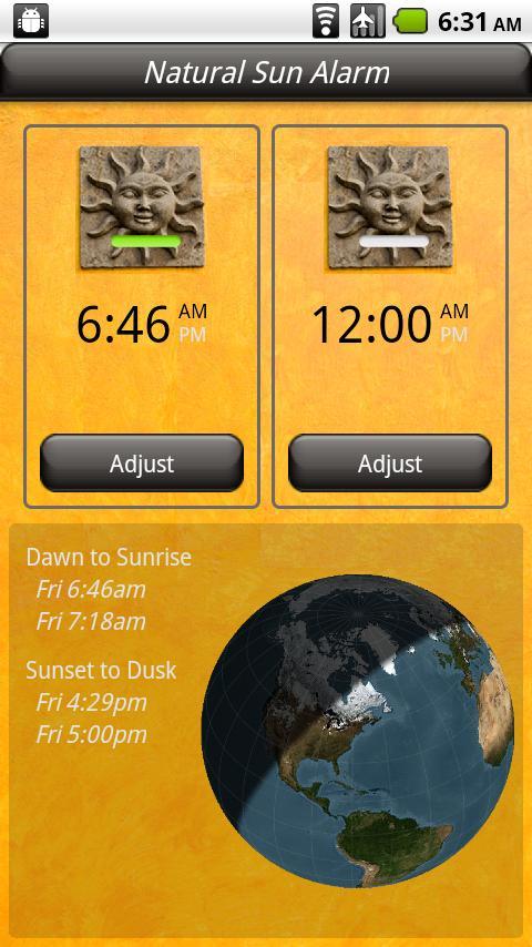 Natural Alarm (FULL) - screenshot