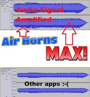 Air Horn MAX! Amped Air Horns - náhled