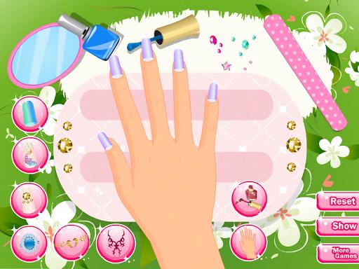 美麗的指甲沙龍