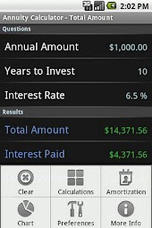 Annuity Calculator - Lite