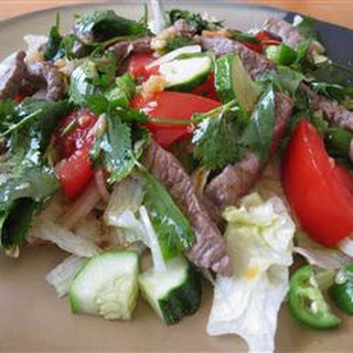 Thai Grilled Beef Salad.
