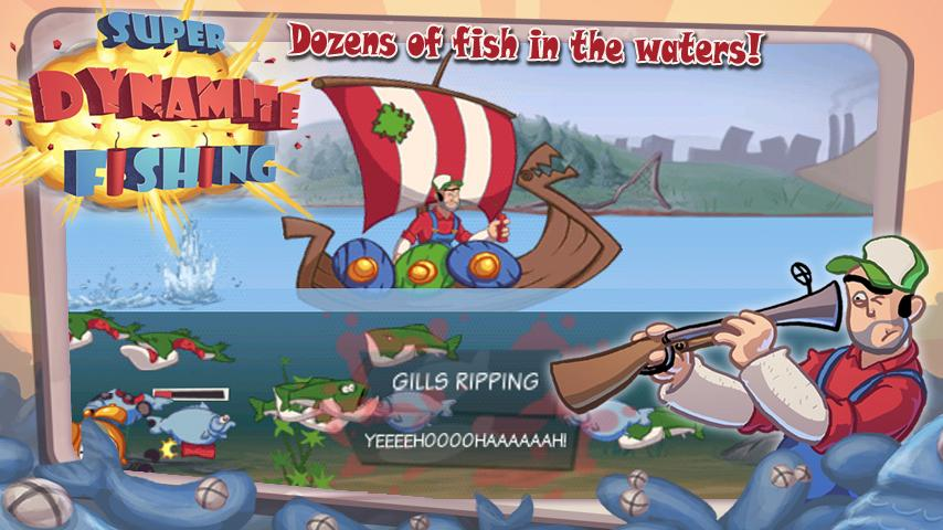 Super Dynamite Fishing Premium- screenshot