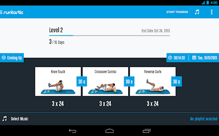 Runtastic Six Pack Abs Workout Screenshot 30