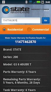 State Water Heaters - screenshot thumbnail