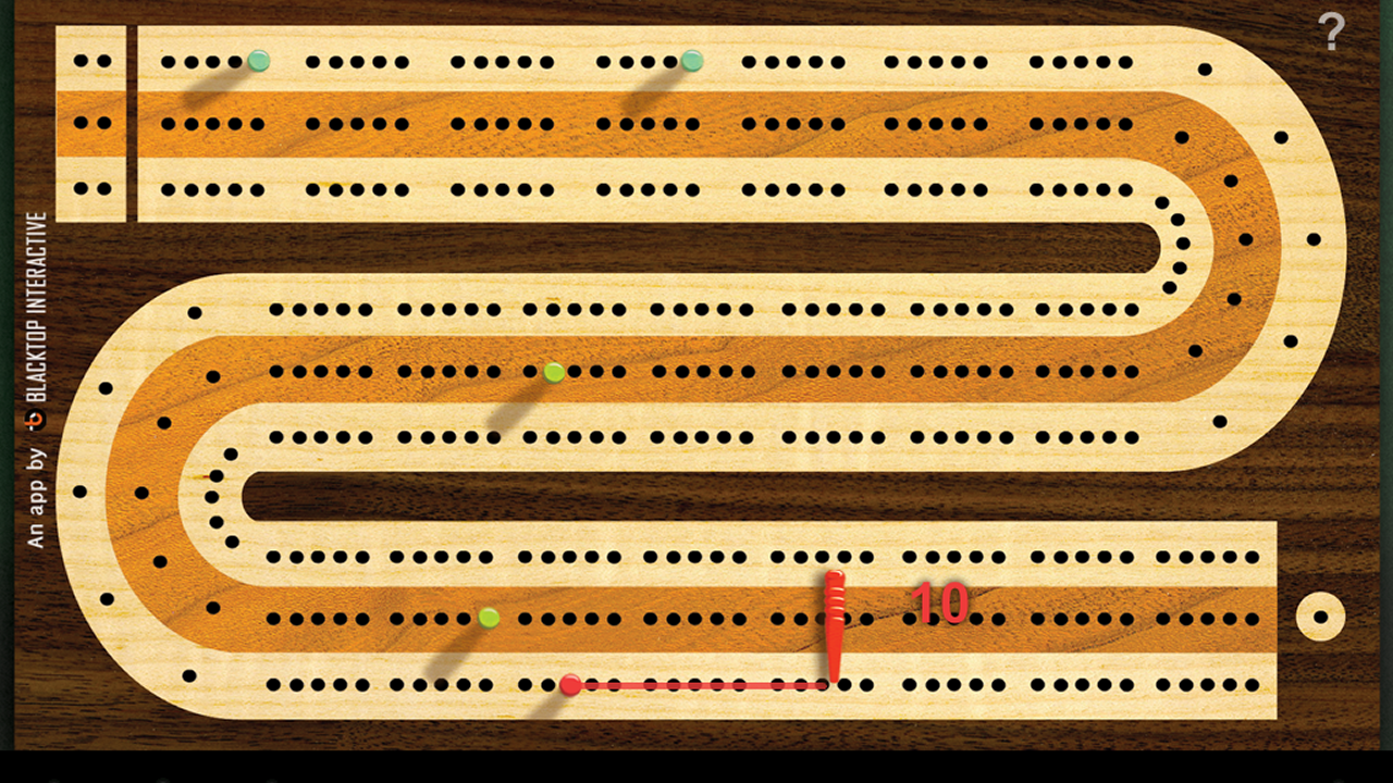 Cribbage Board- screenshot