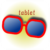 Let's try glasses(for tablet)