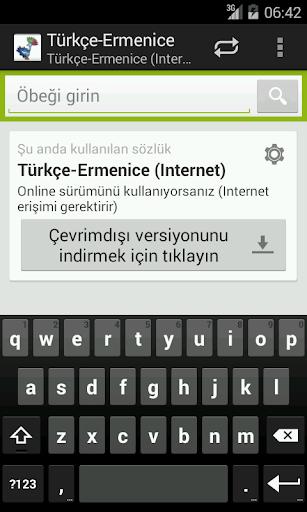 Türkçe-Ermenice Sözlük