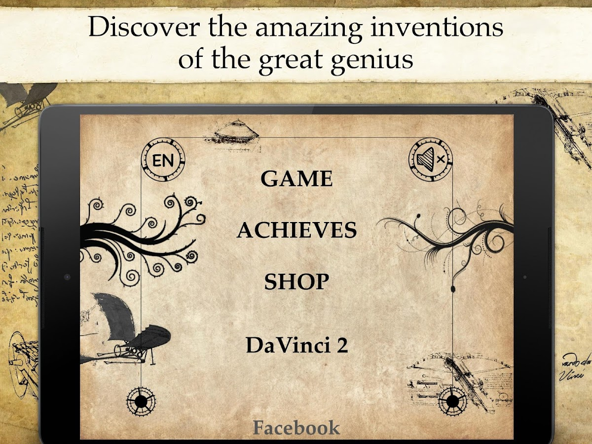 DaVinci Mystery Riddles Pro - screenshot