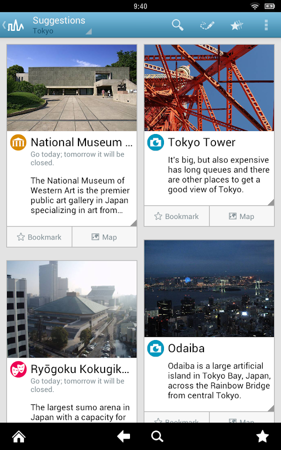 Tokyo Travel Guide by Triposo - screenshot
