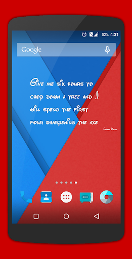 Quote Widget for Android