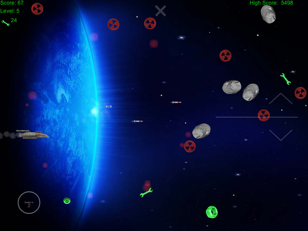 Space Junk Hunter- screenshot