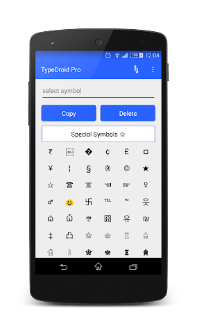 android TypeDroid Pro with Keyboard Screenshot 8