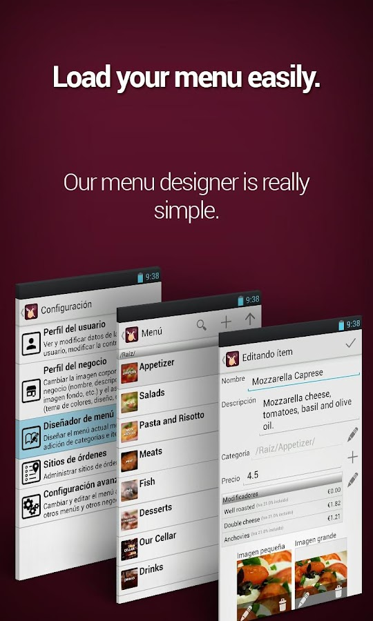 Restaurant Menu - Android Apps On Google Play