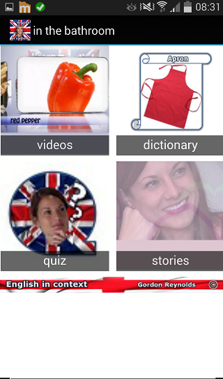 Learn English in context - screenshot