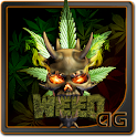Demon Skull Weed Animated icon
