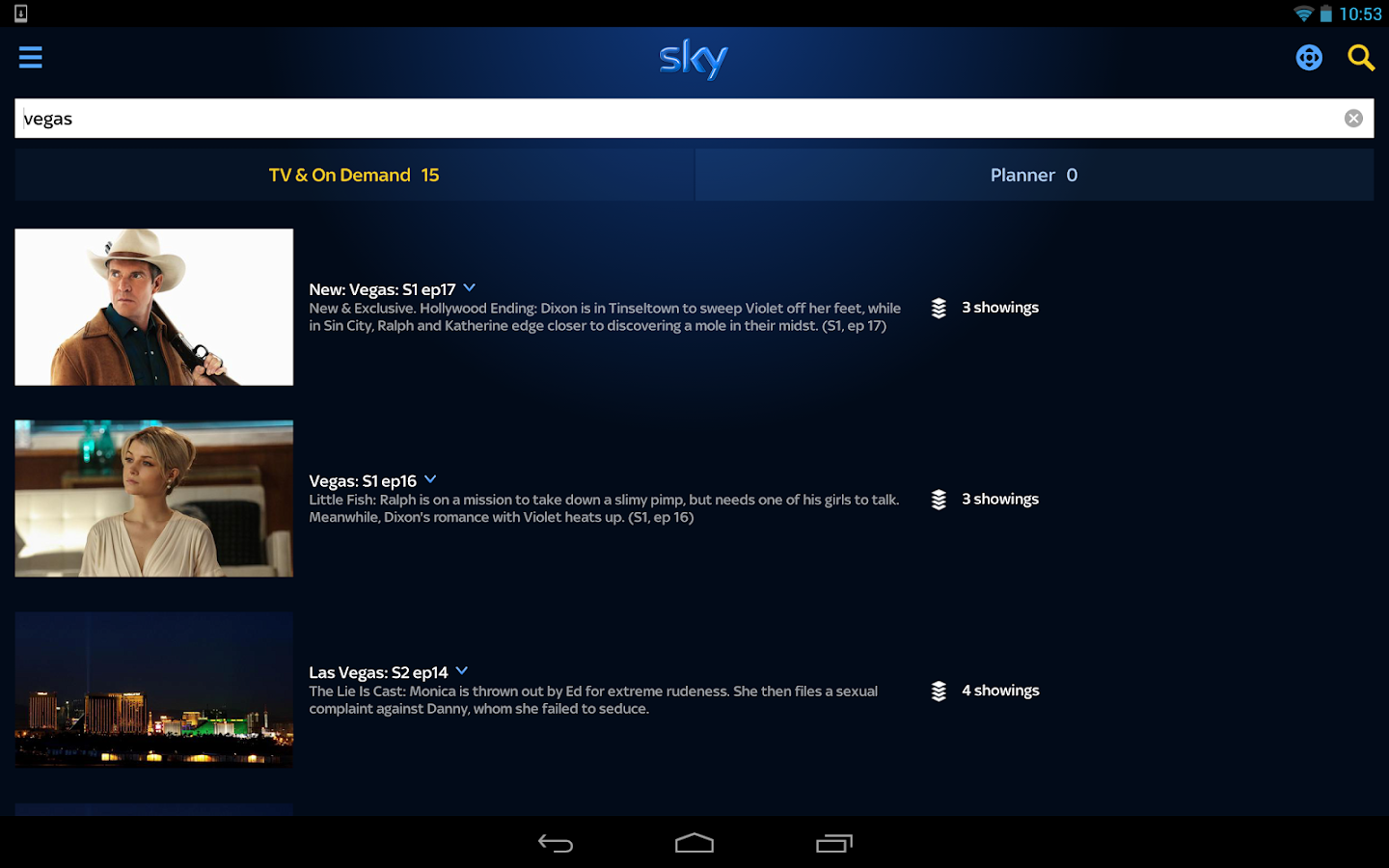 Sky+ - screenshot