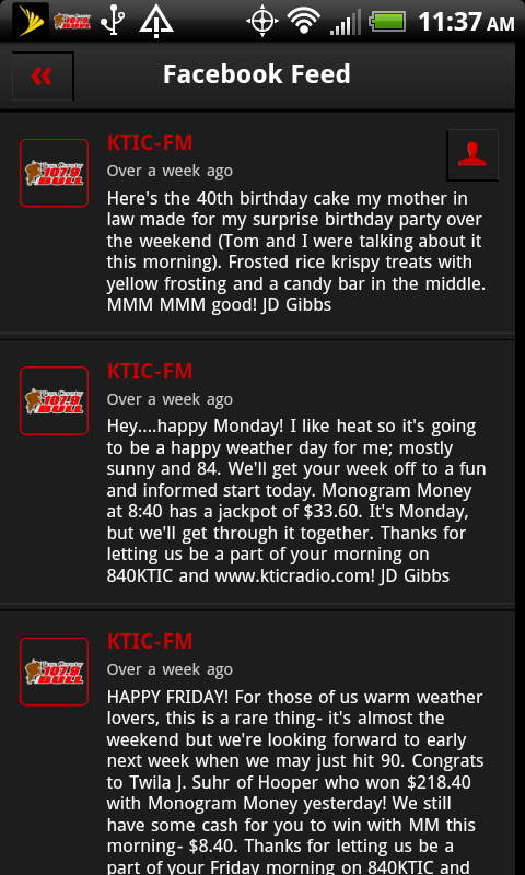 107.9 The Bull - screenshot