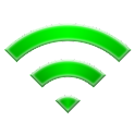 Auto open Wi-Fi connection logo