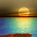 Beach Sunset Live Wallpaper logo