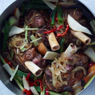Soy-Braised Lamb Shanks