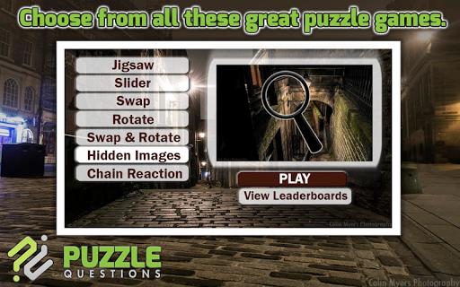 Old Edinburgh Free Puzzle